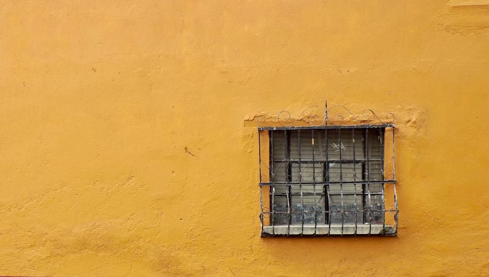 black casement window