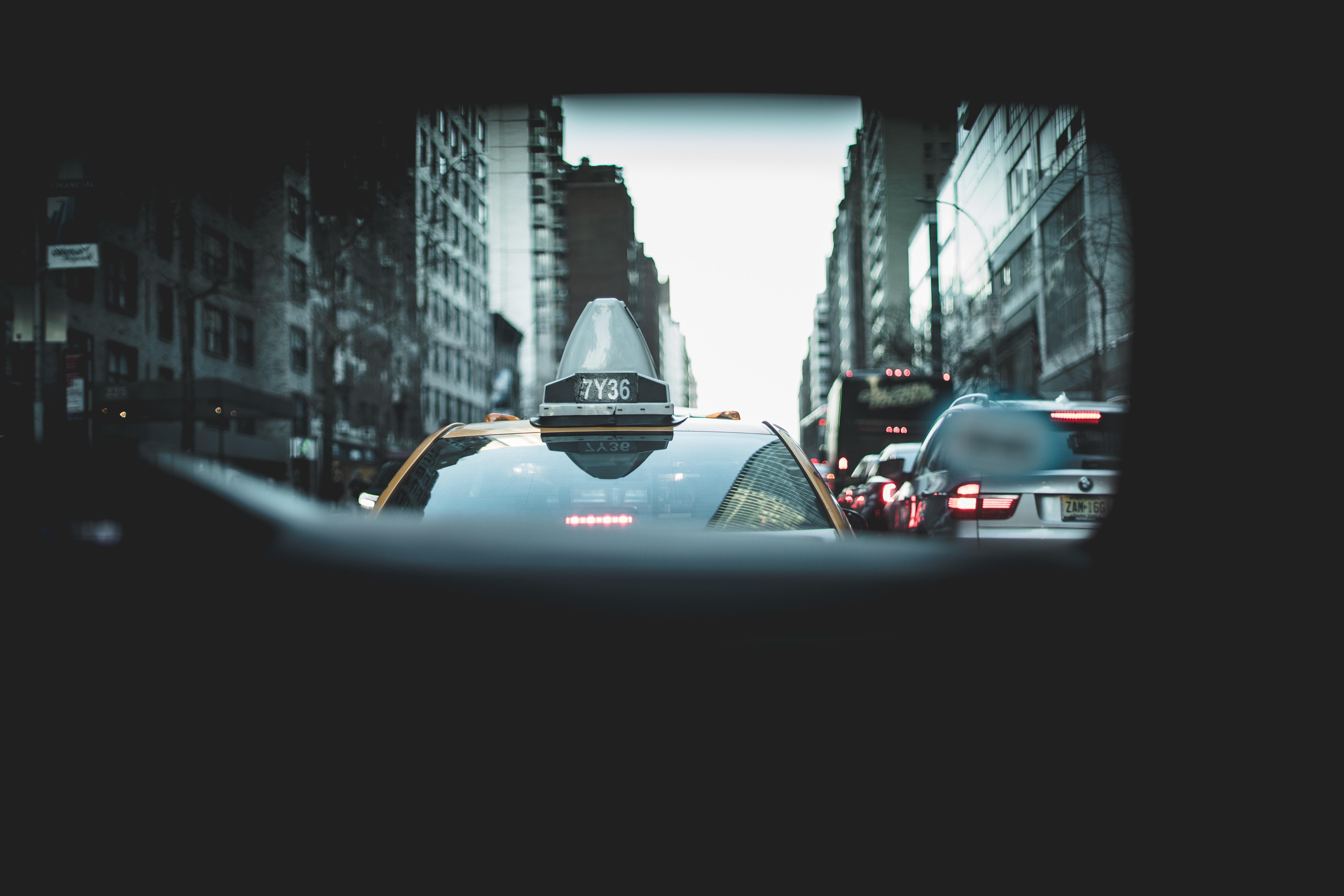 rear mirror photography