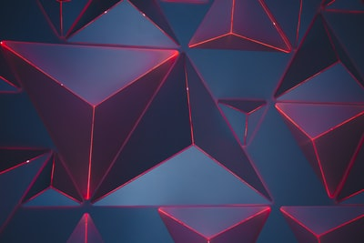 blue and red triangles wallpaper abstract zoom background