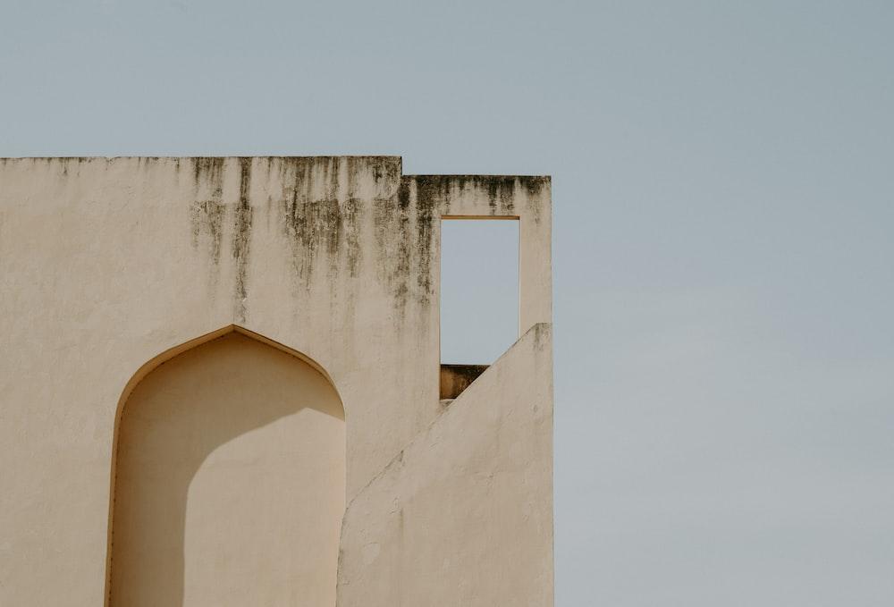 photo of beige concrete building