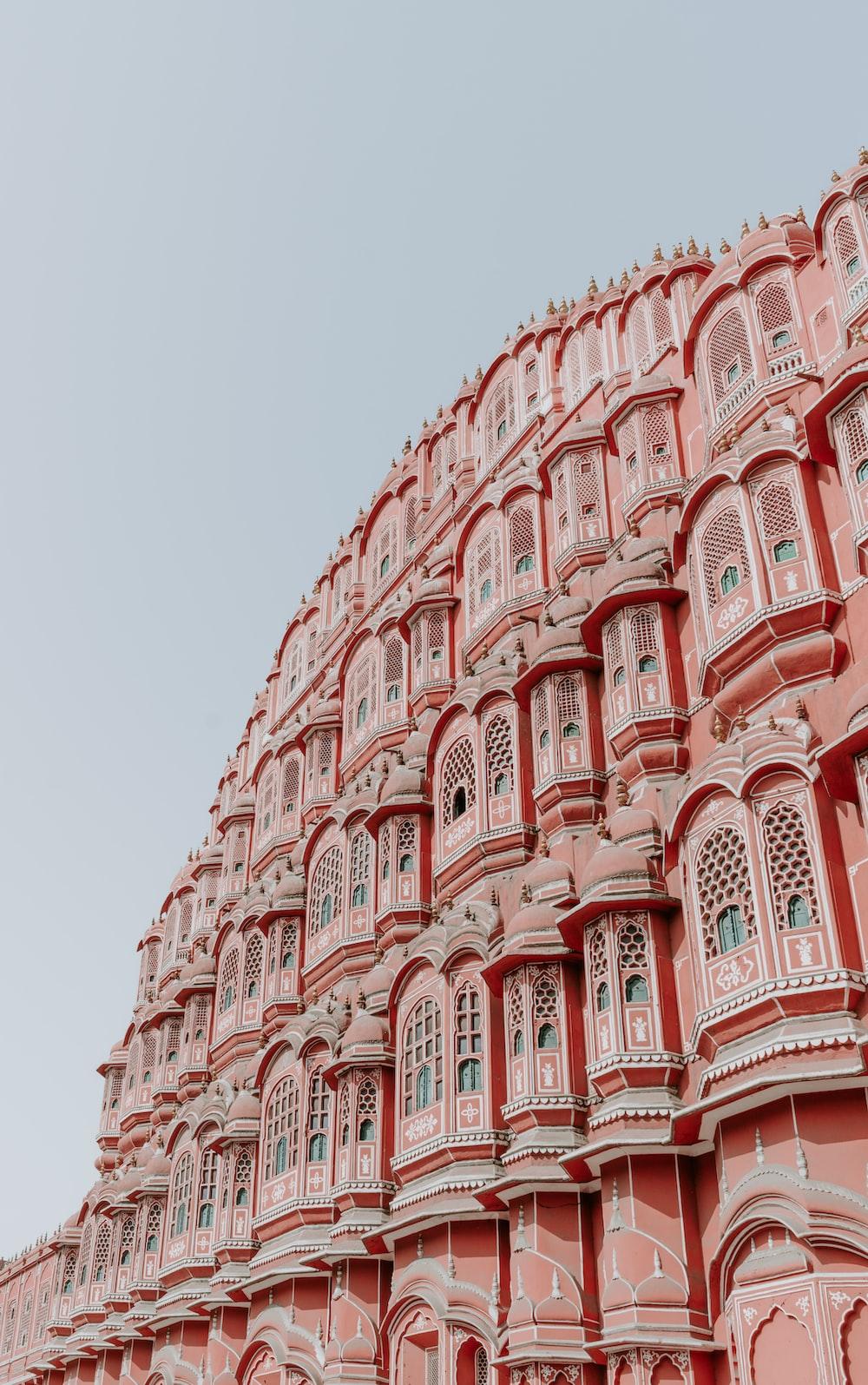 Hawa Mahal, India at daytime