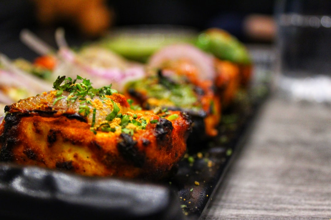 Seasoned Grilled Paneer