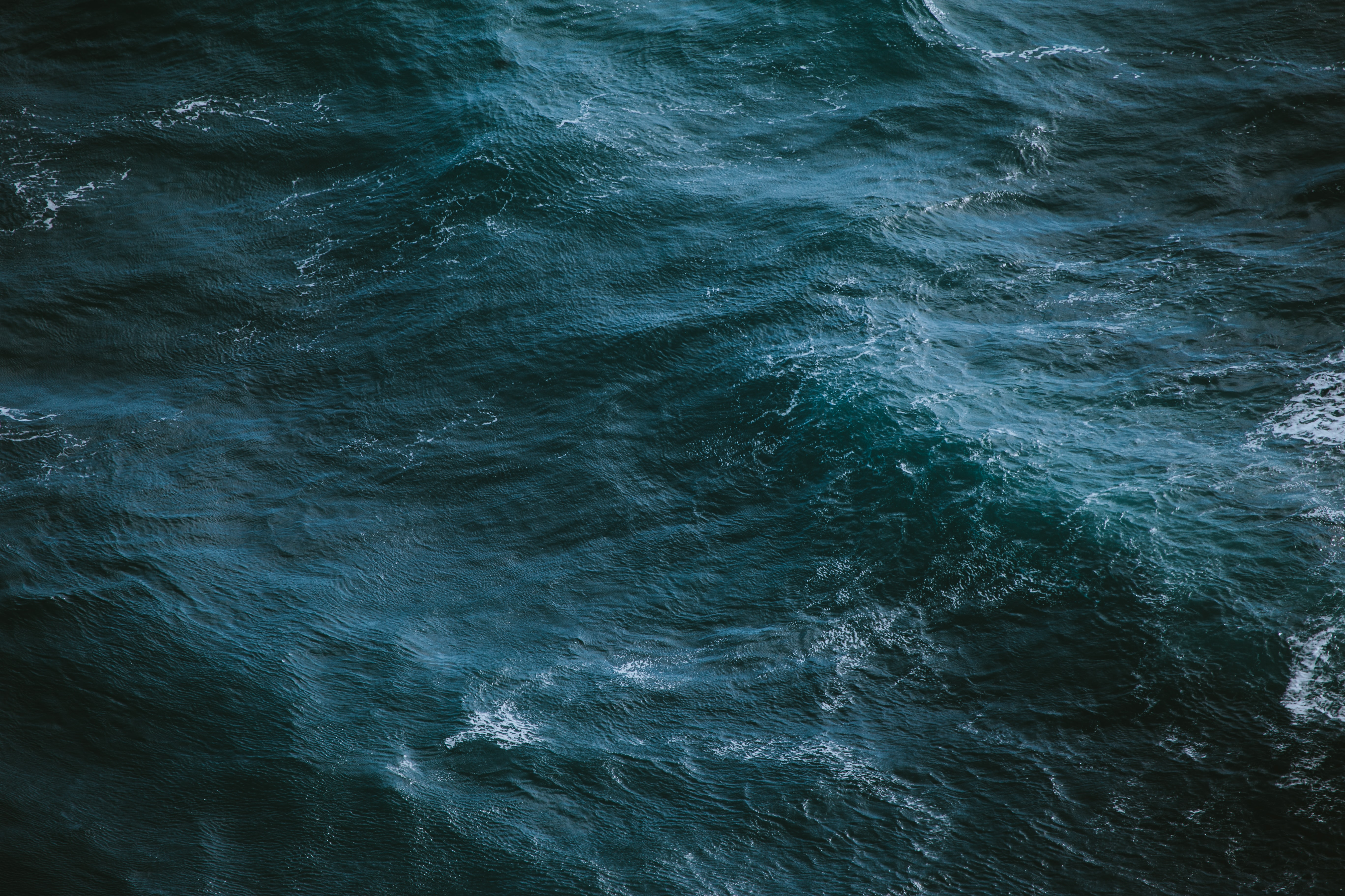 aerial view photography of sea
