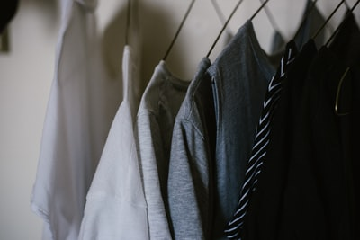assorted-color clothes clothe zoom background