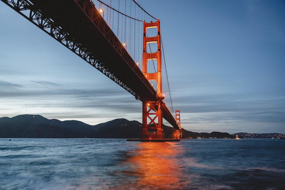landscape photography of Golden Gate Bridge, California