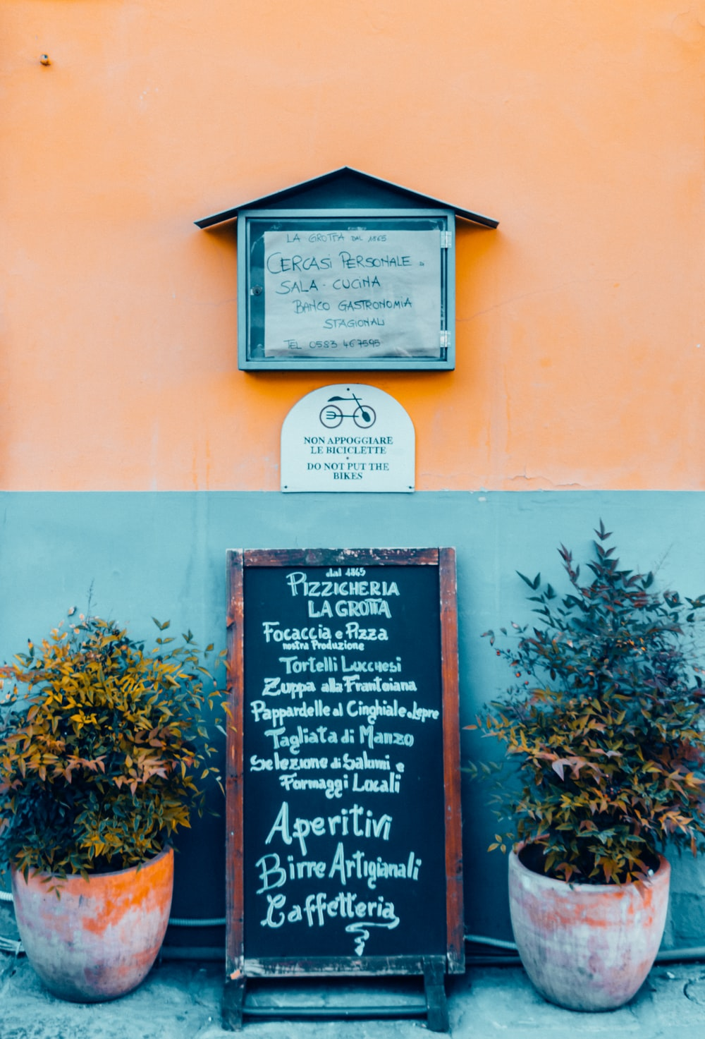 Pizzicheria menu