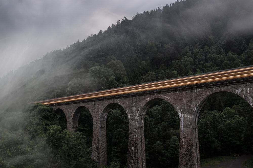 gray concrete bridge during daytime