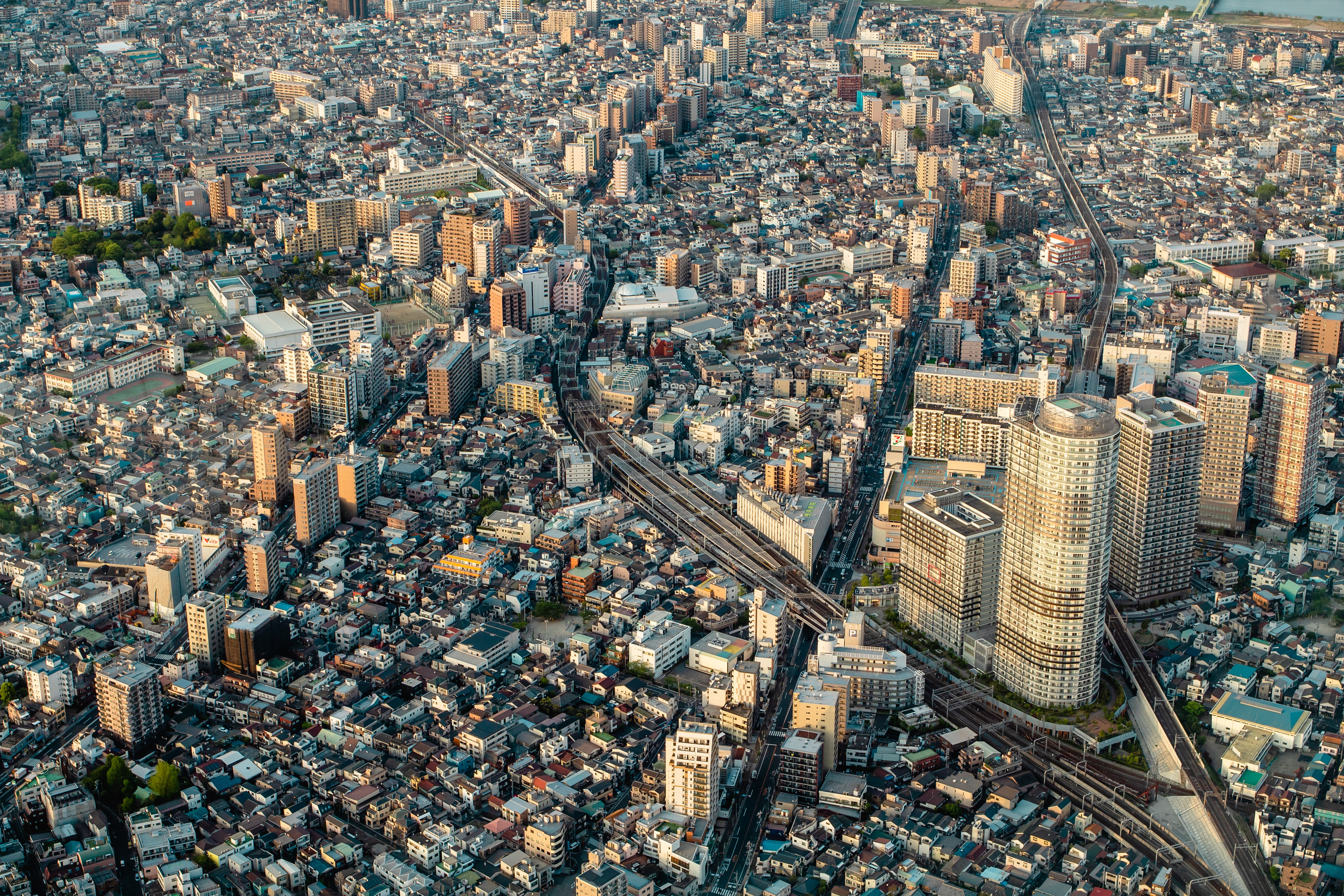 aerial photo of city during daytime