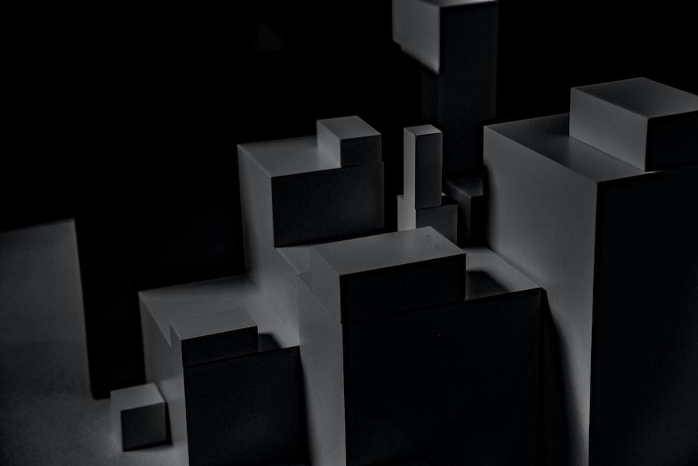 gray blocks