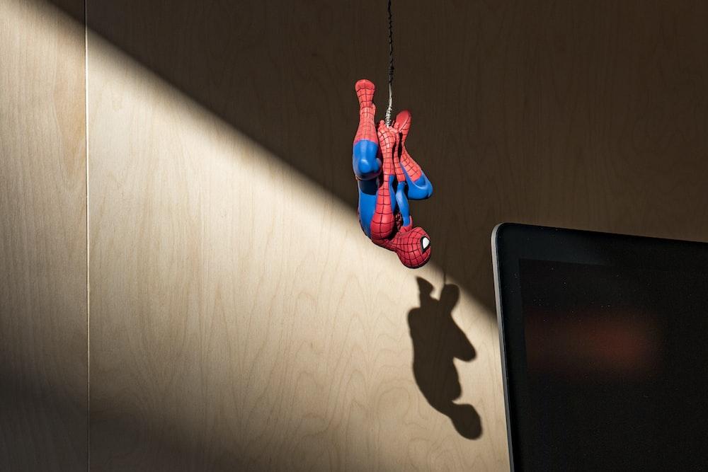 Spider-Man hanging action figure