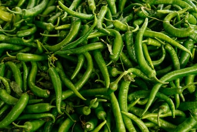 green chili vegetable teams background