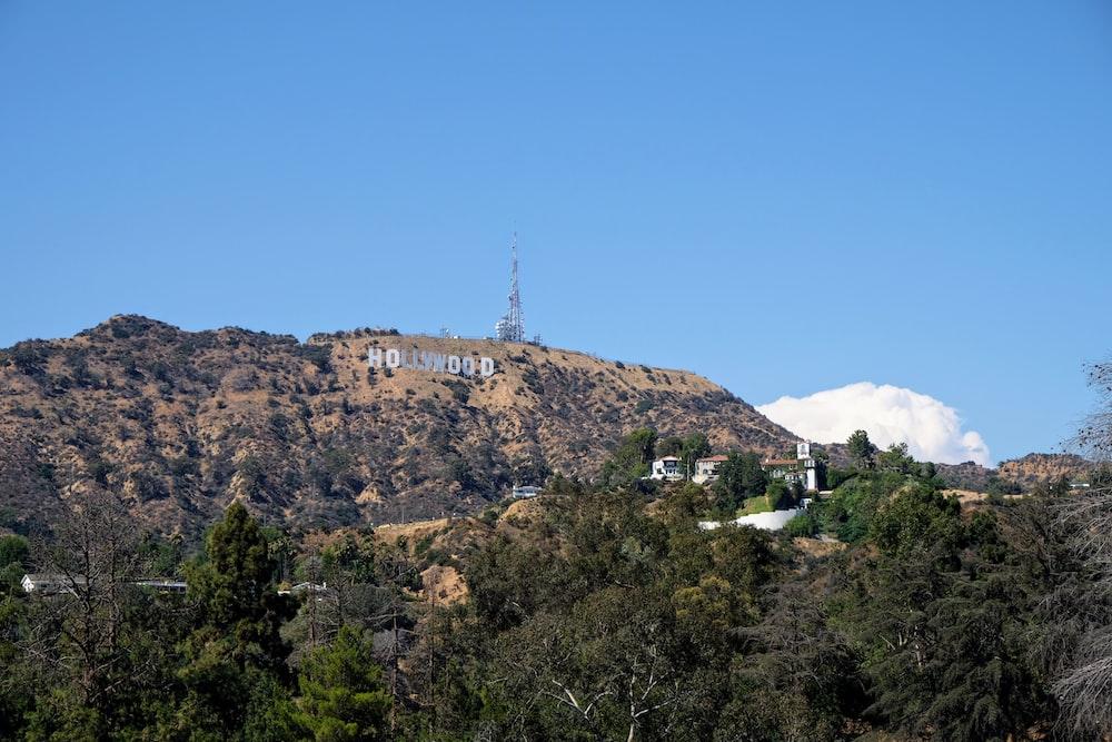 photo of Hollywood Signage