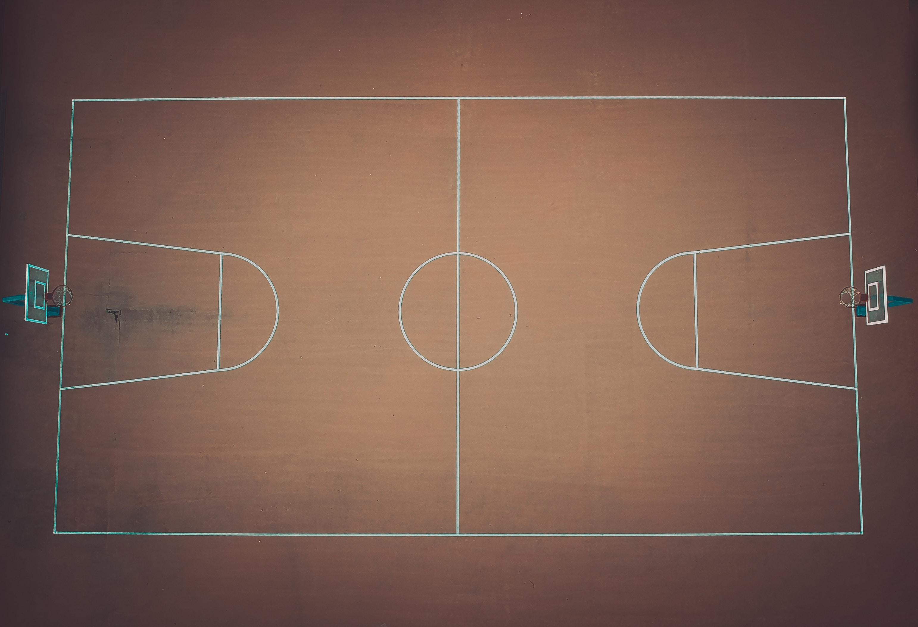 basketball court plan