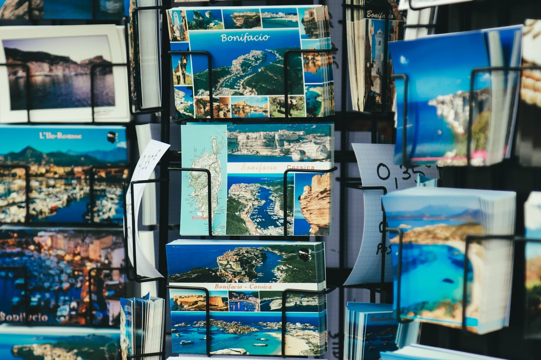 Corsican postcards