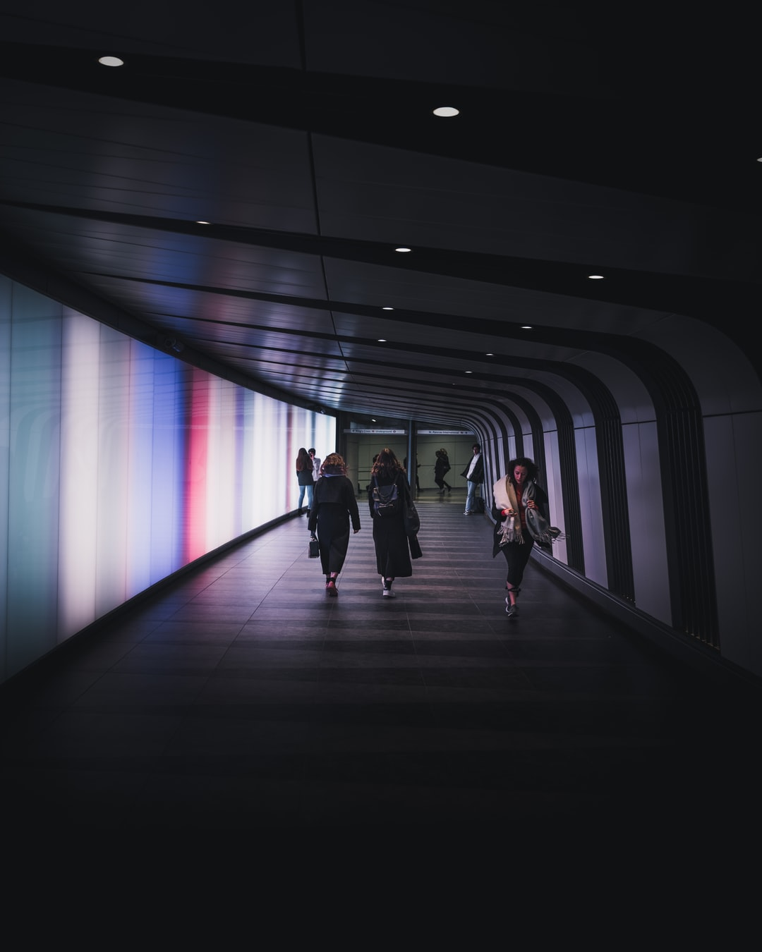 Light tunnel, Kings Cross
