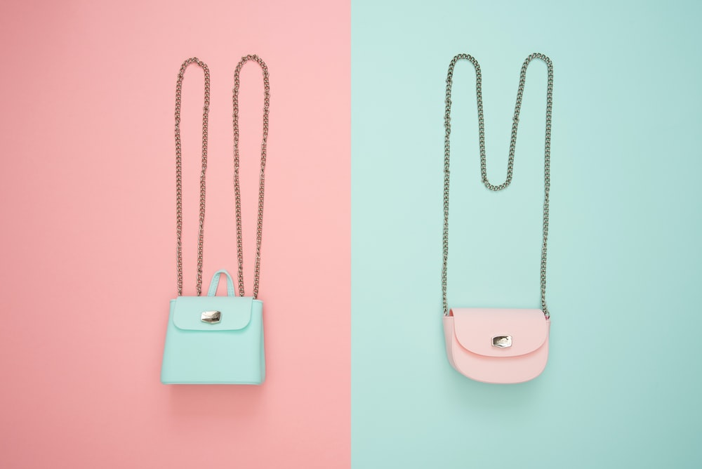 photography of crossbody bags