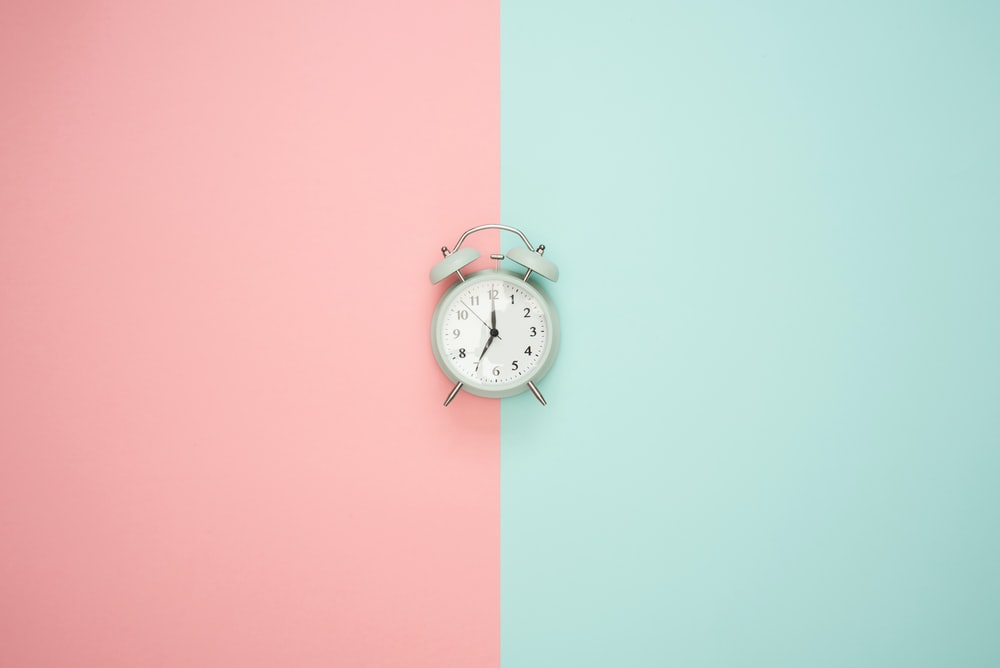 silver bell alarm clock