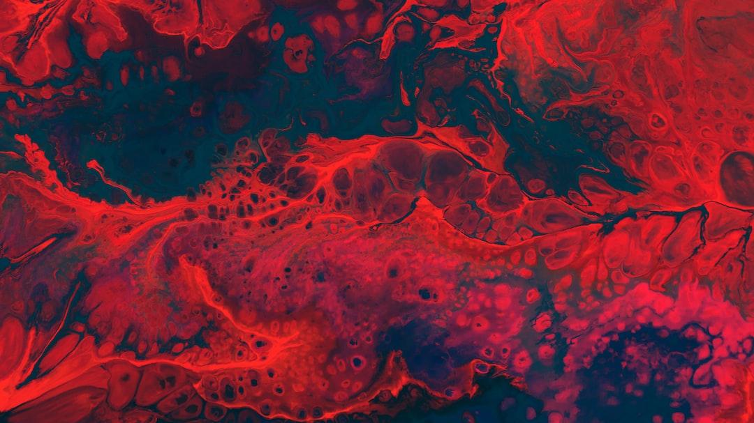 Abstract blood Vein