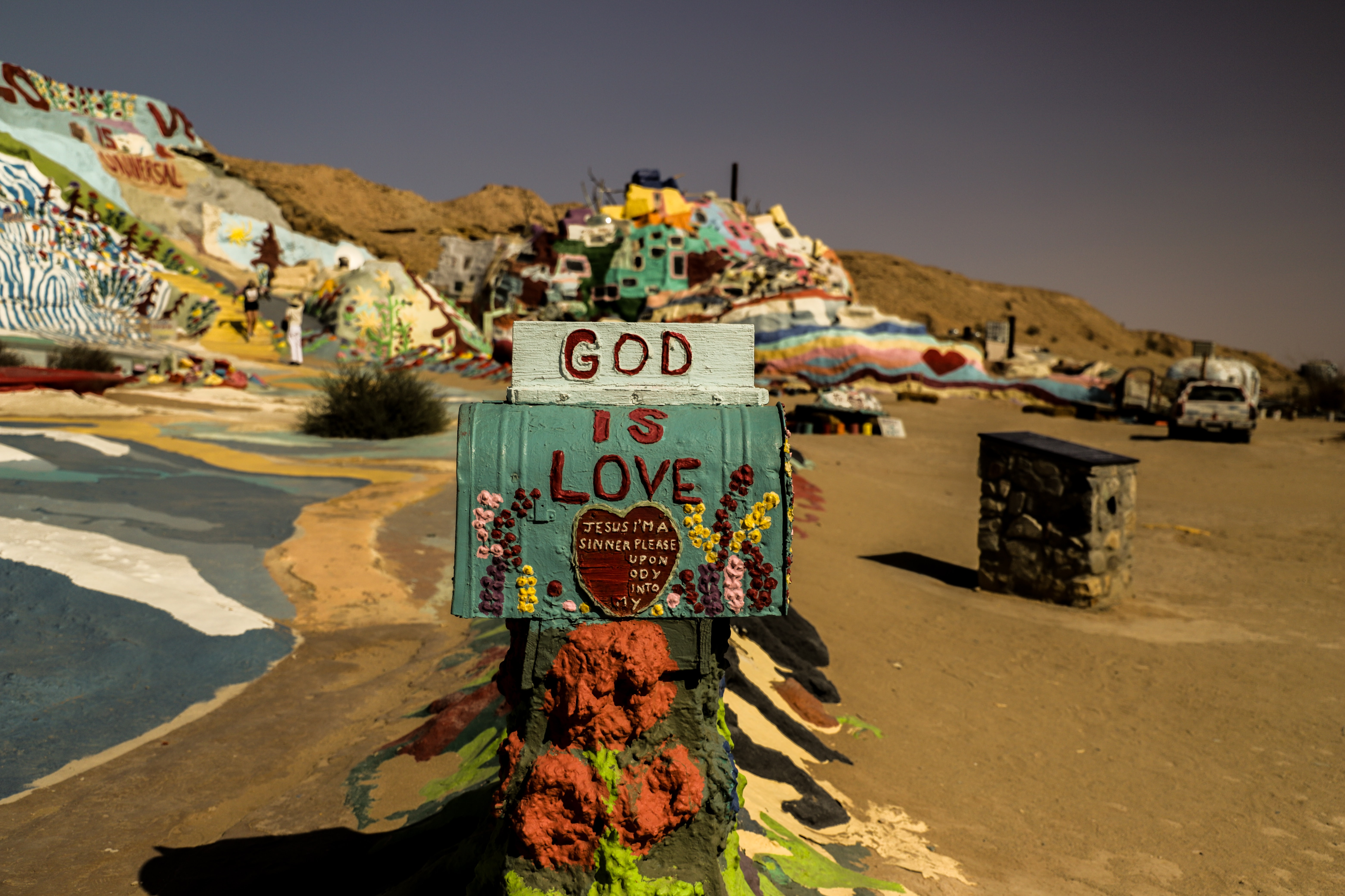 god is love mail box