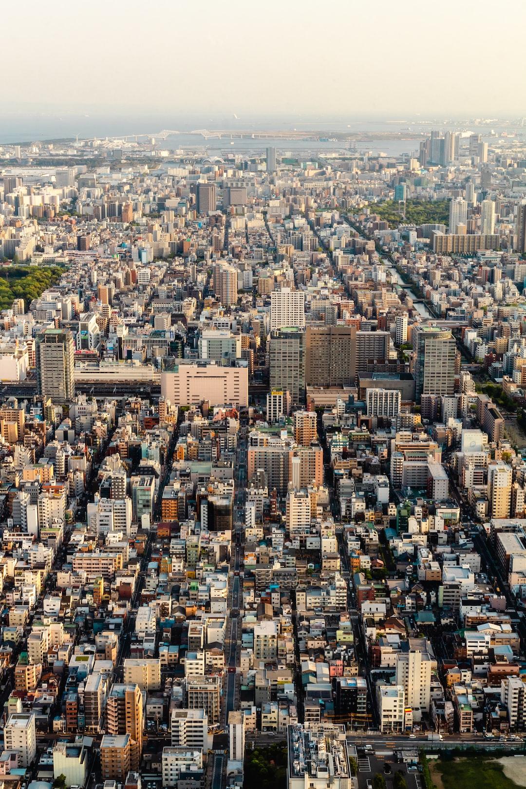 Golden Hour Atop Tokyo Skytree