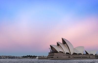 sydney opera house australia zoom background