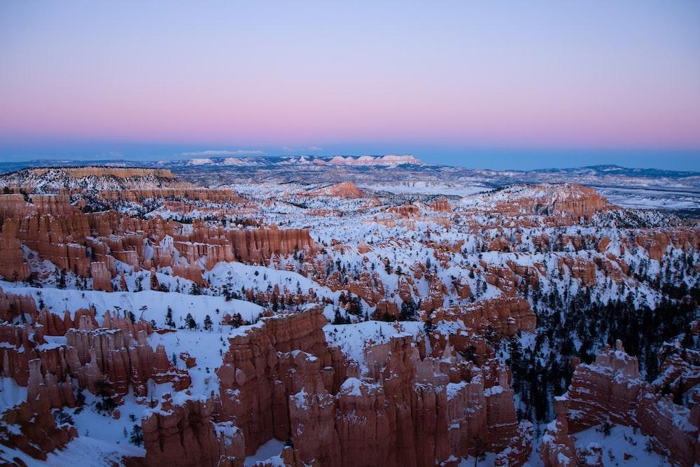 Bryce Canyon National Park, Utah during winter