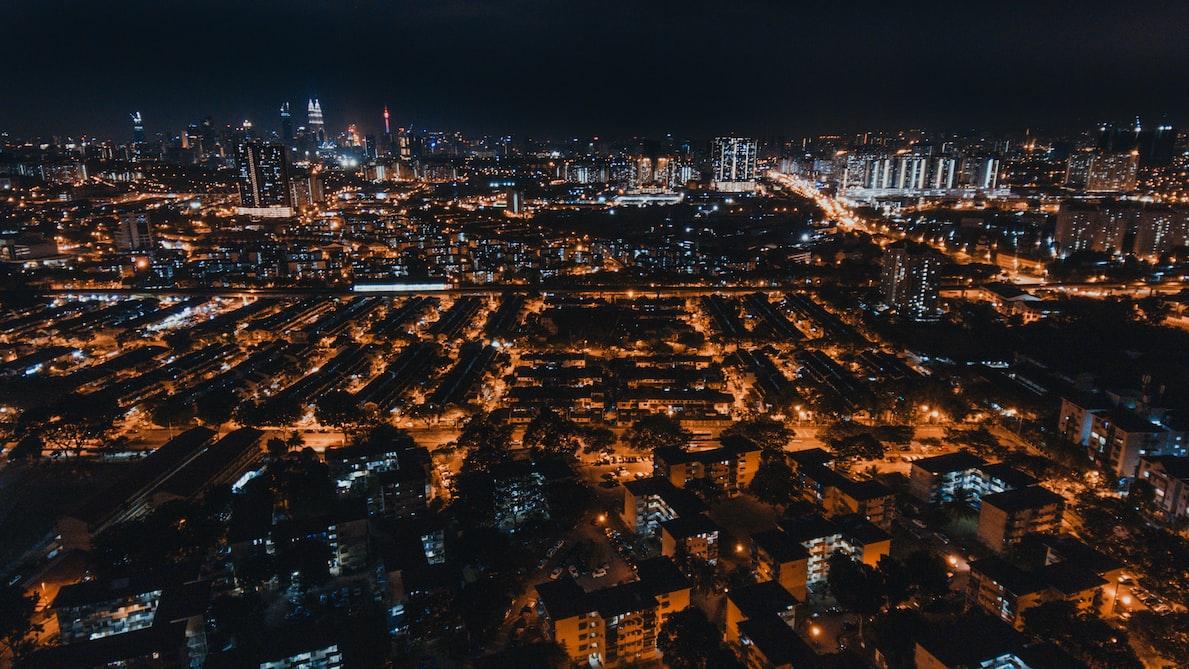 Malaysia in night