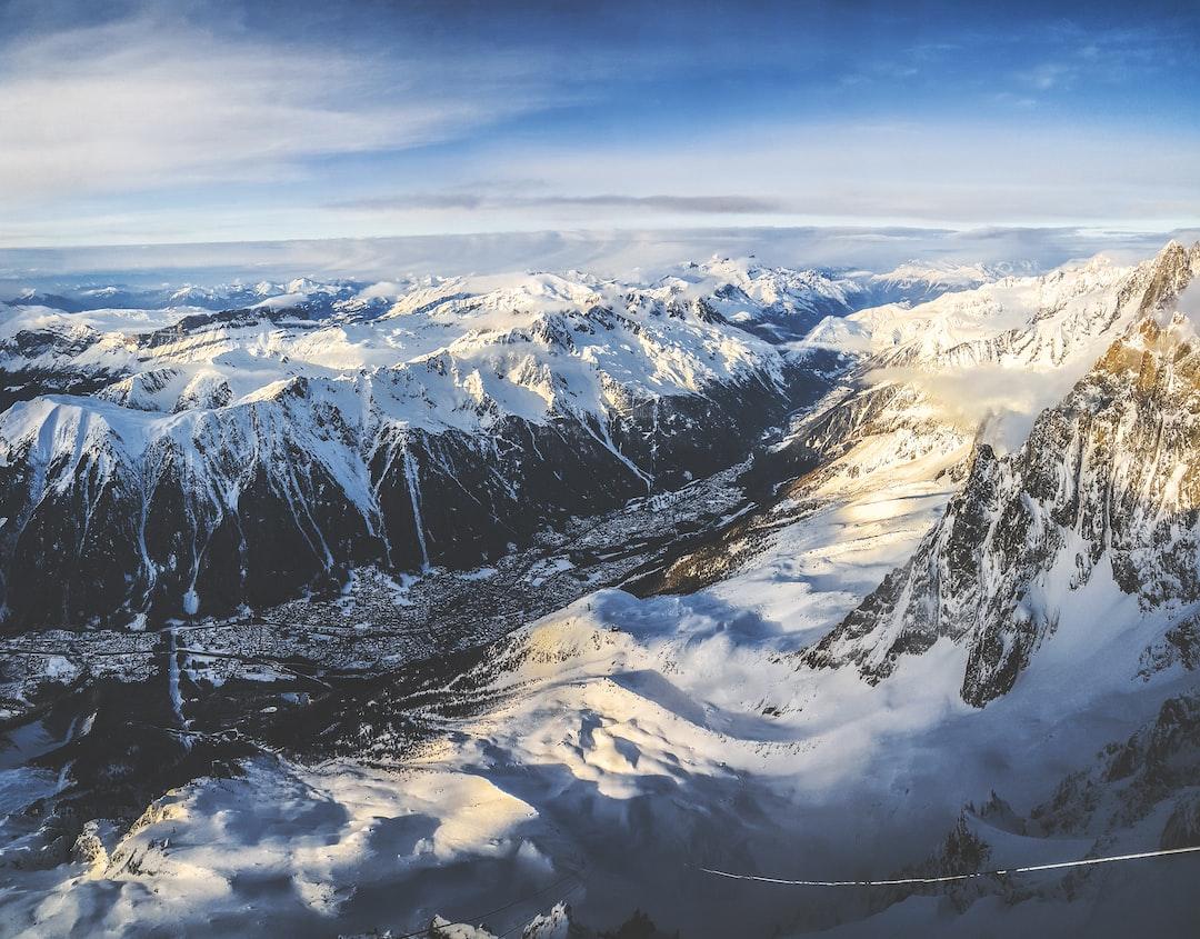 View on Chamonix village