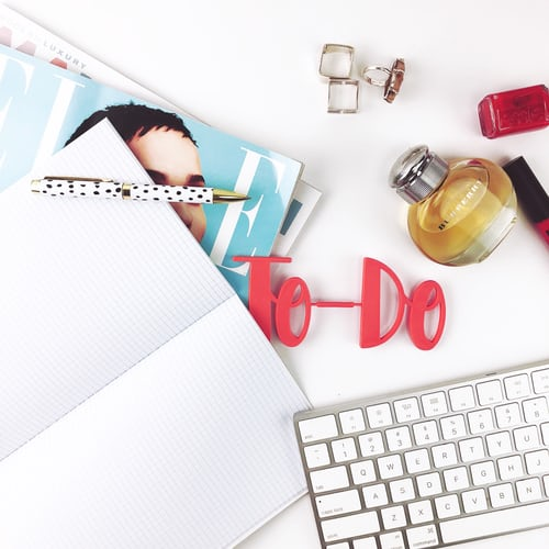 A to-do list helps you to be more organized and eventually achieve more.