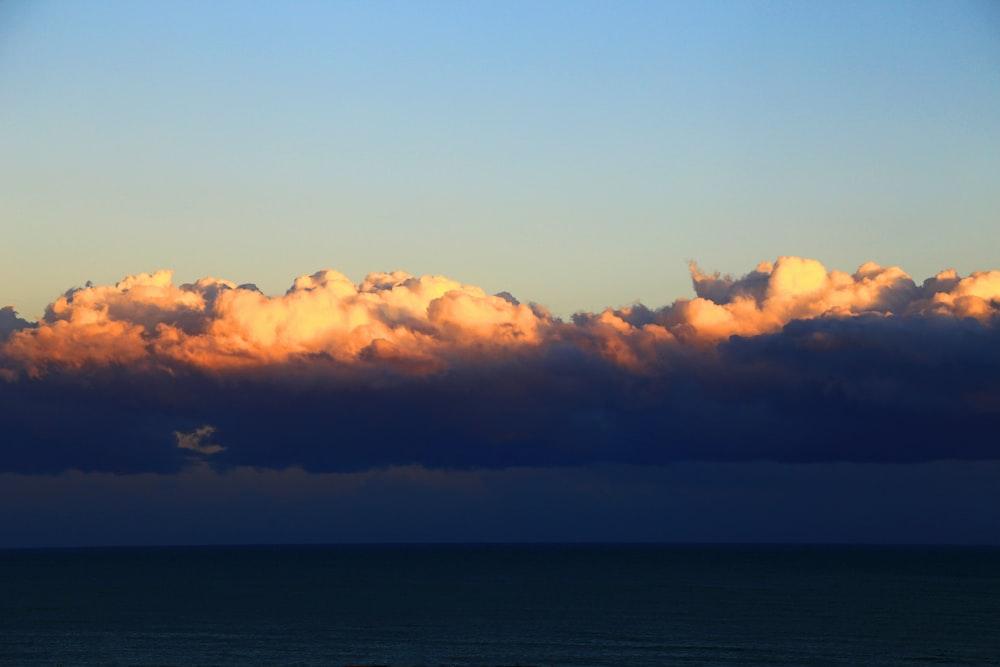 white cloud during daytime