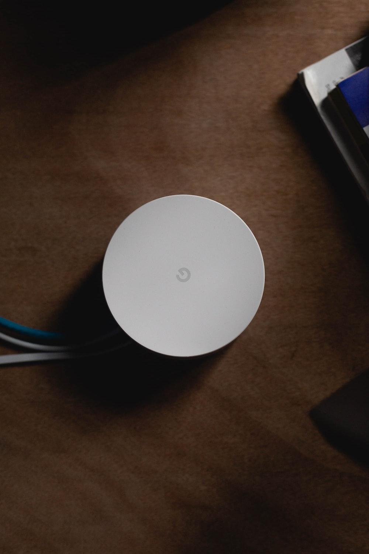 white Google wifi system