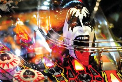 Kiss band head bust figurine