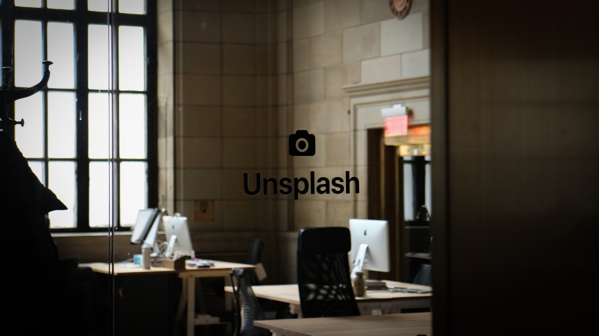 Went on a field trip with my French class to Montreal. My friend wanted to go somewhere that served coffee so we went into this area that looked like a train station. We sat down and soon I noticed the Unsplash logo and was immediately surprised.