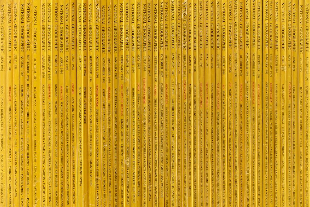 yellow books