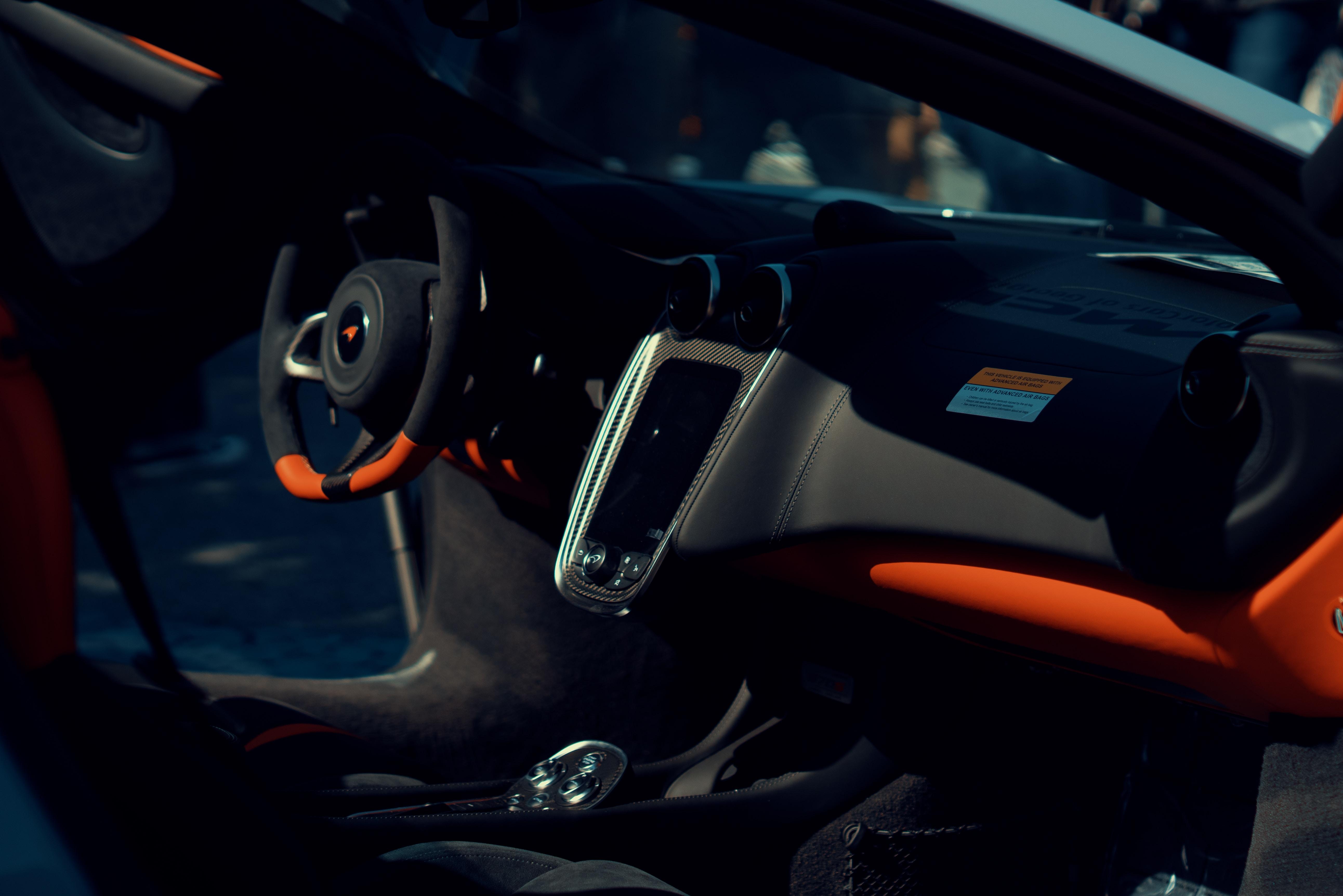 empty sports car seat