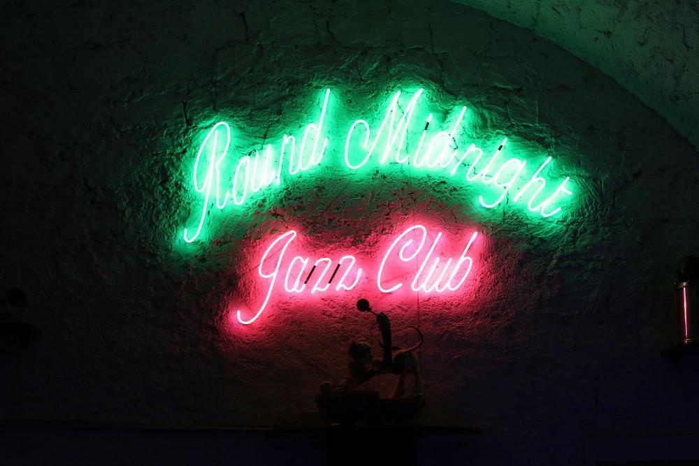Jazz Club signage
