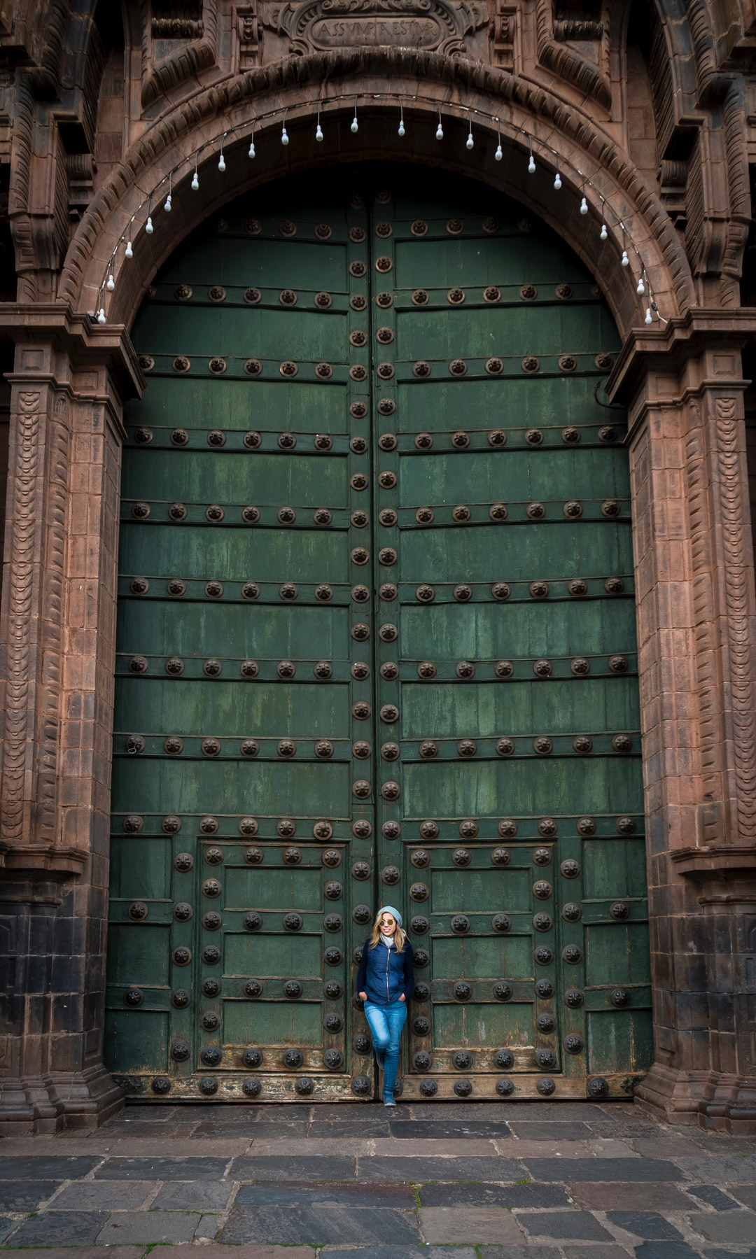Gates of Cusco Cathedral