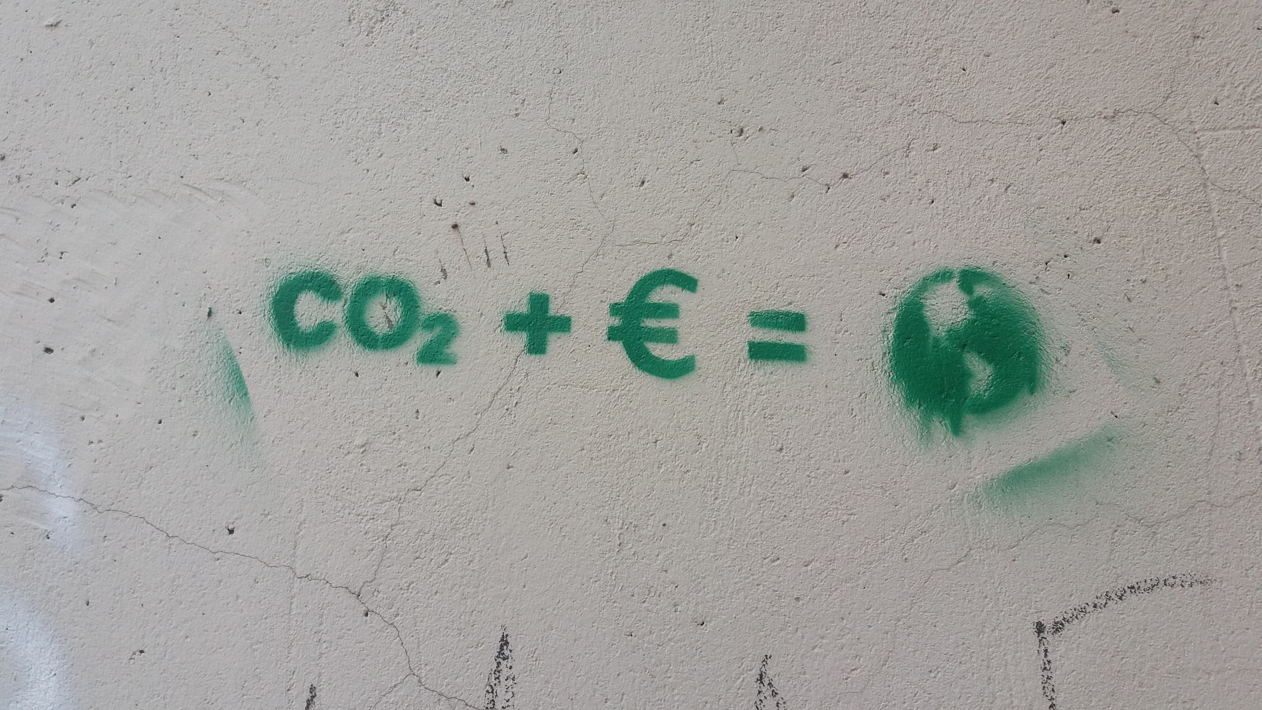Co2 + E = wall text