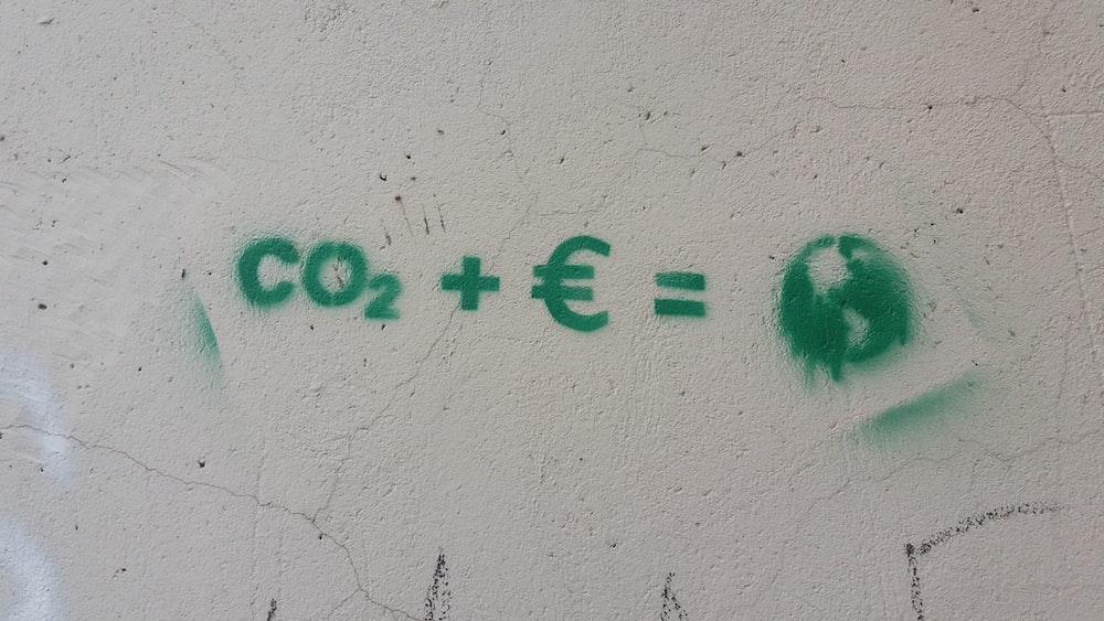 Co2 + E = wall text