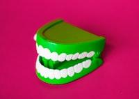 green denture toy