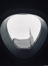 worm's eye view photo of building