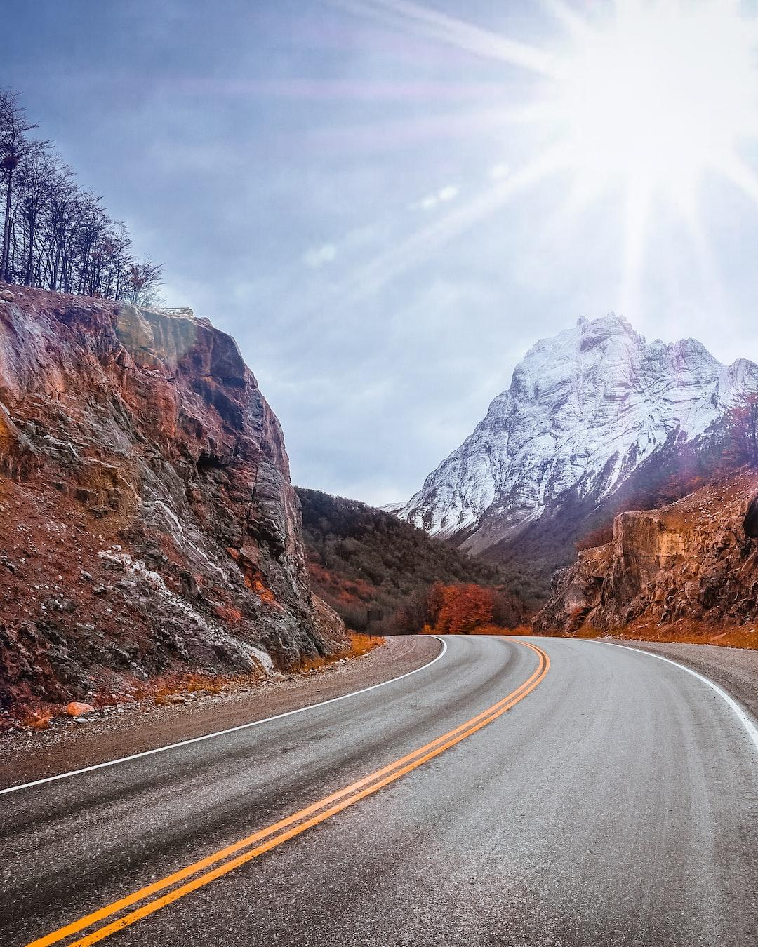 Manejando por Tierra del Fuego