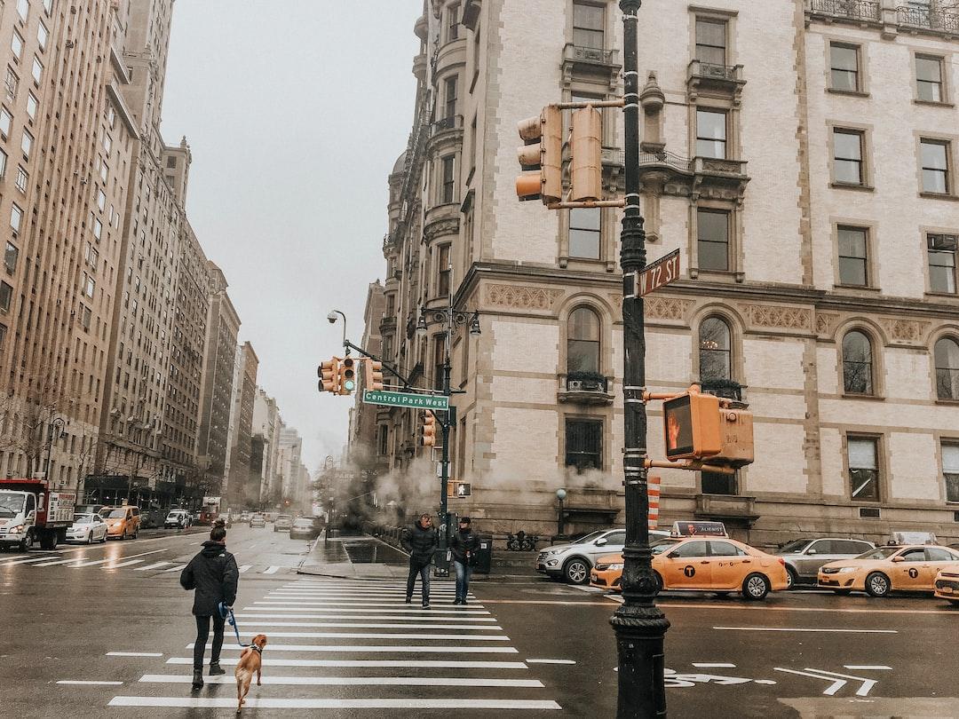 Upper East Side crosswalk