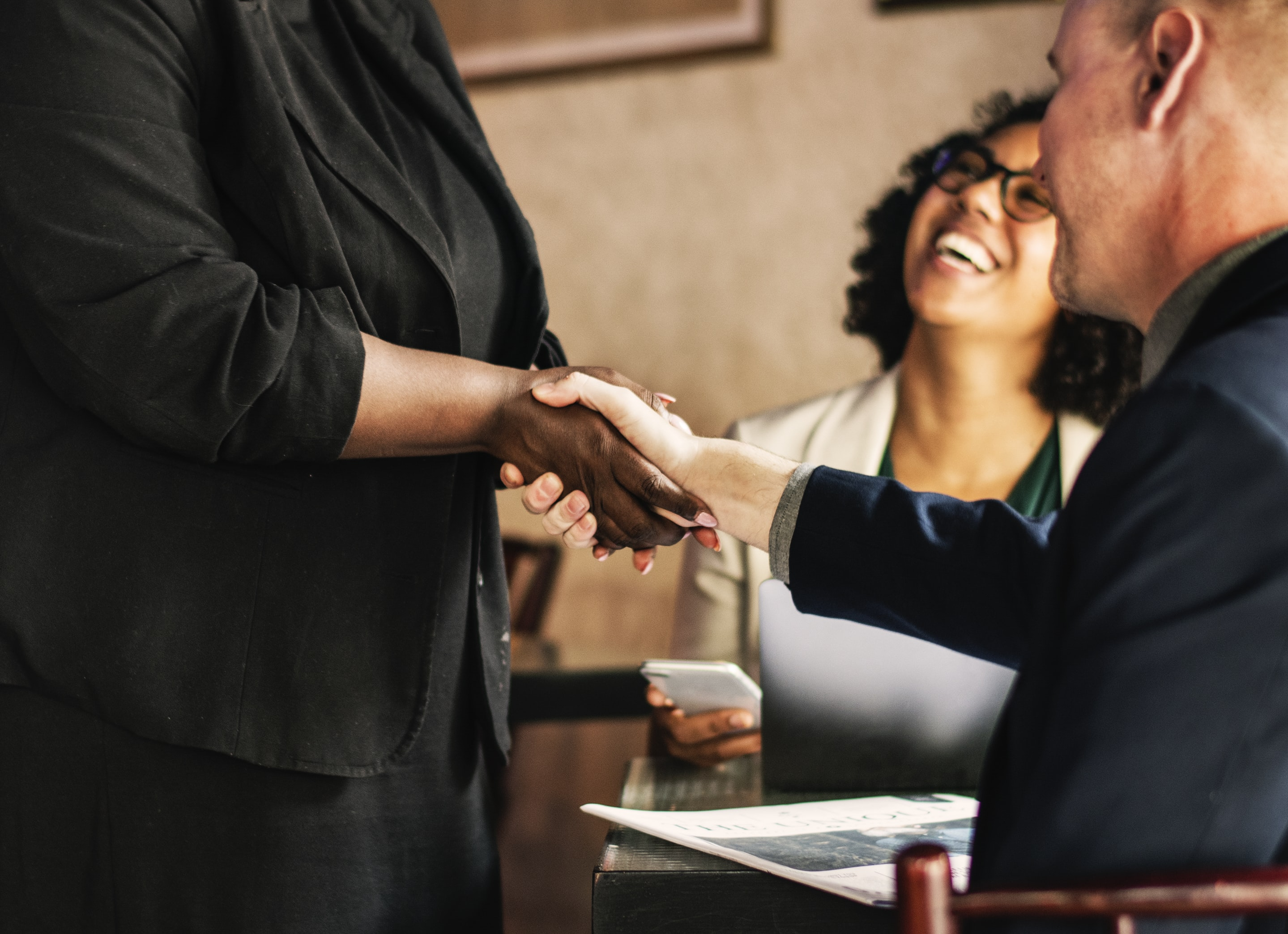 Try attending a networking event to get inspired