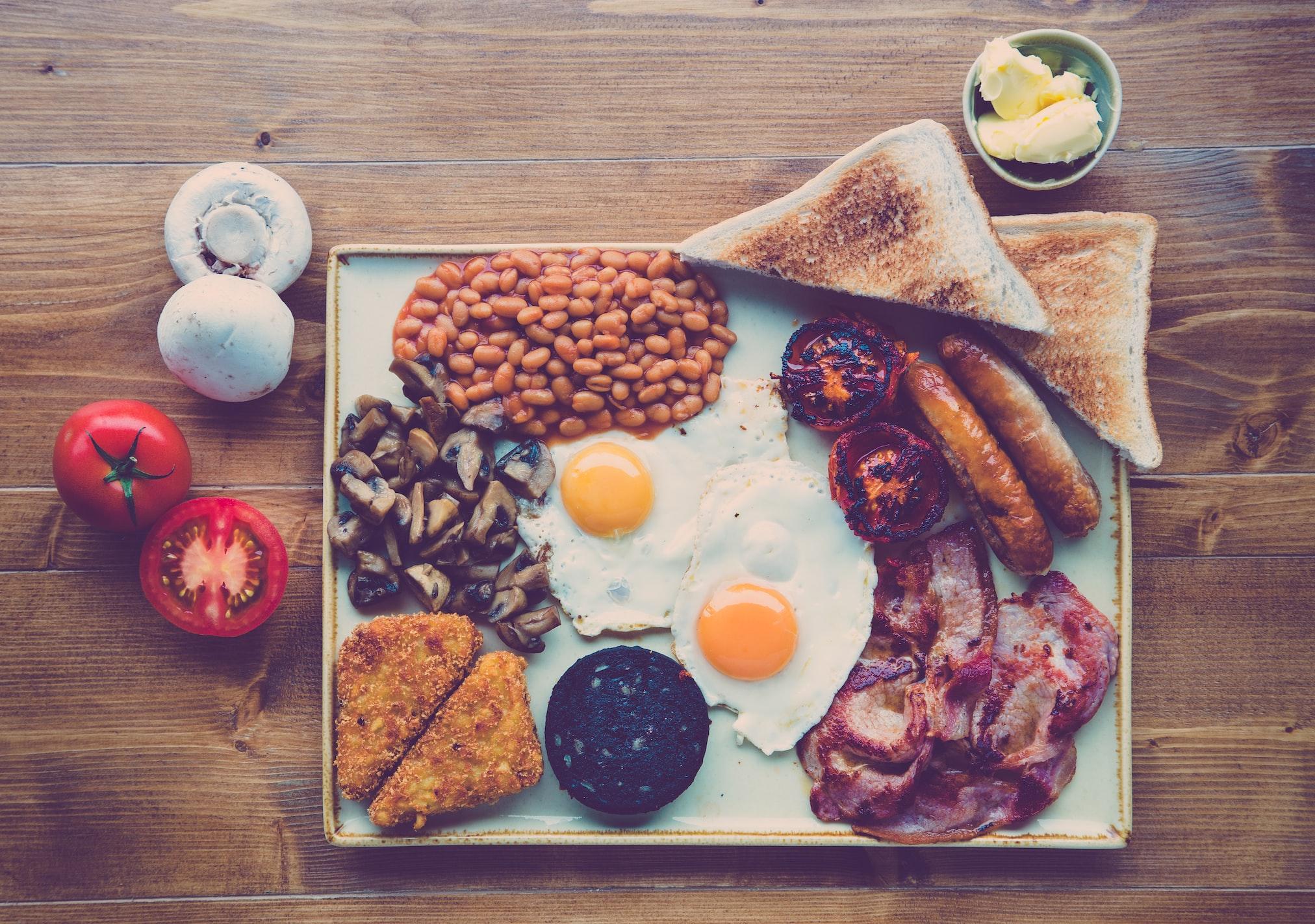 Canadian style breakfast