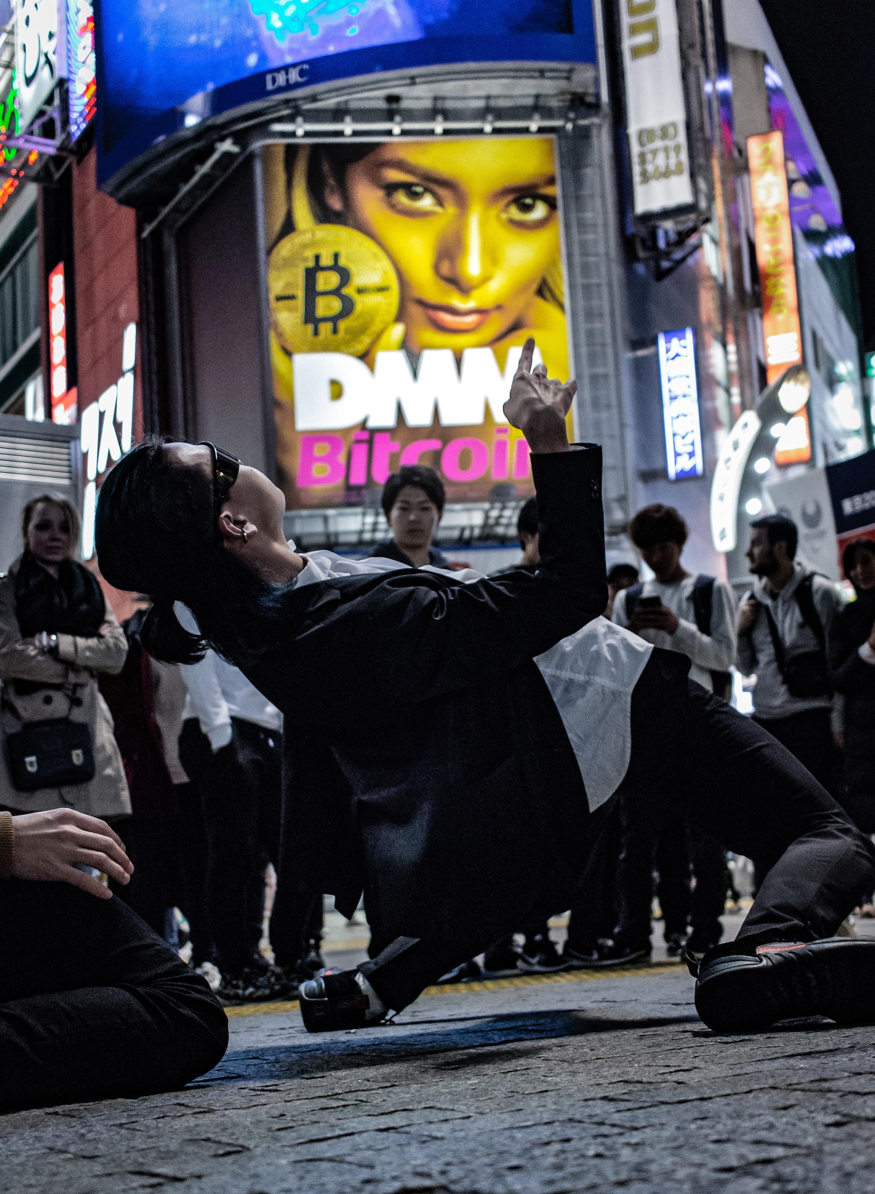 woman street dance