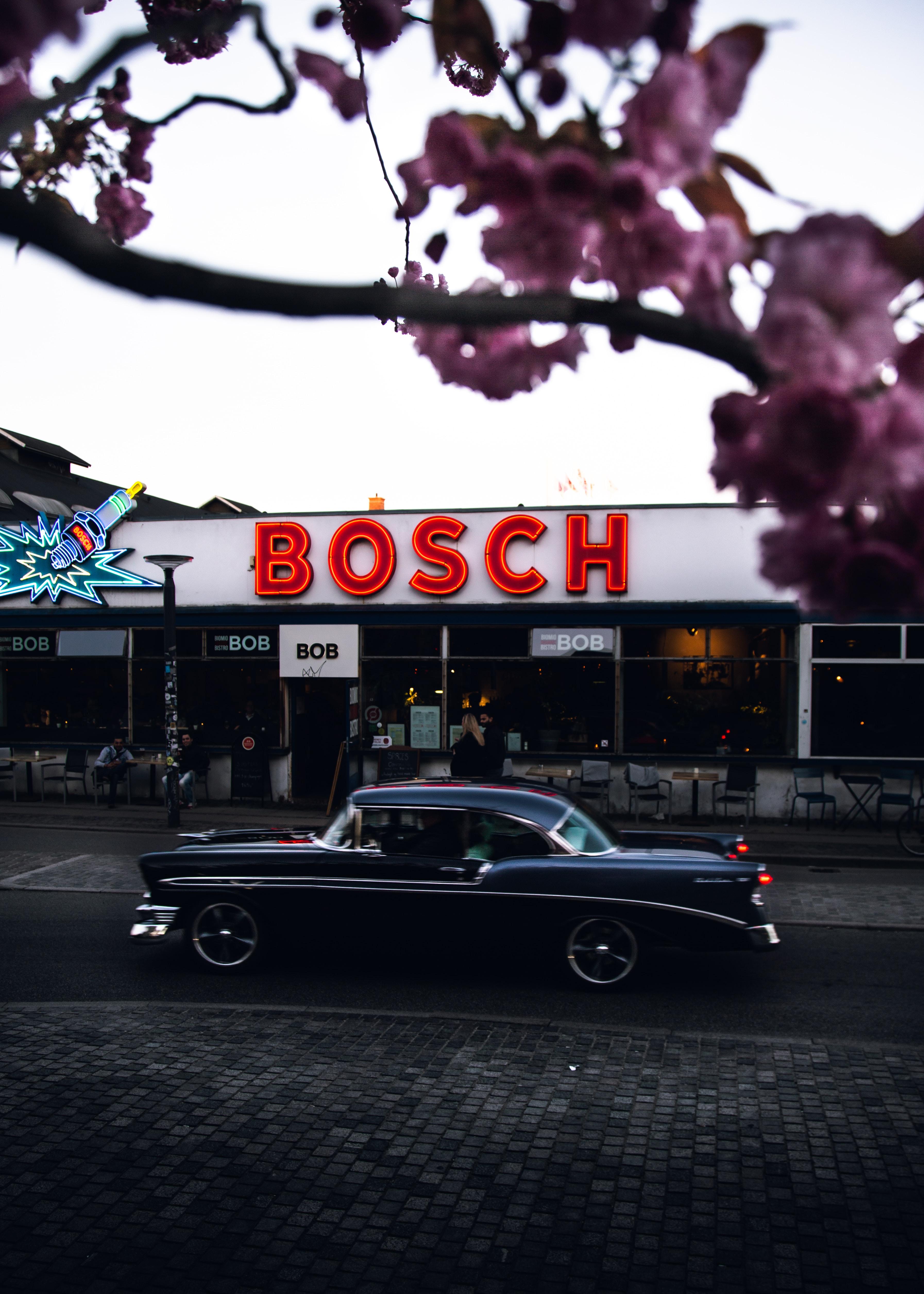 Bosch LED signage
