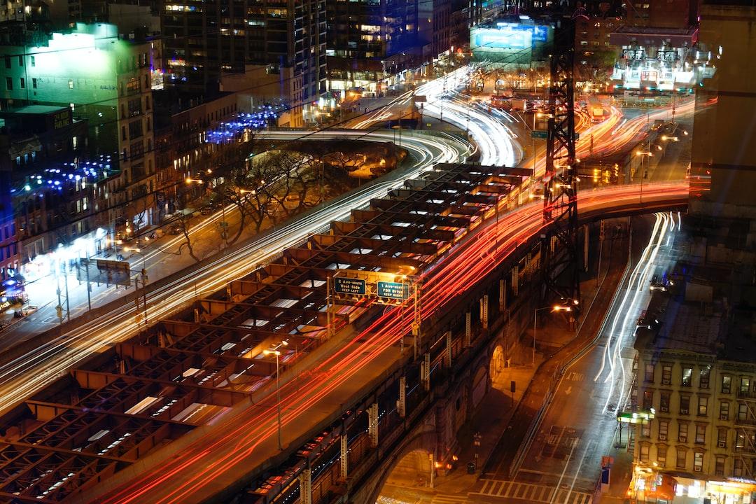 Queensboro bridge from a 24th floor apartment.