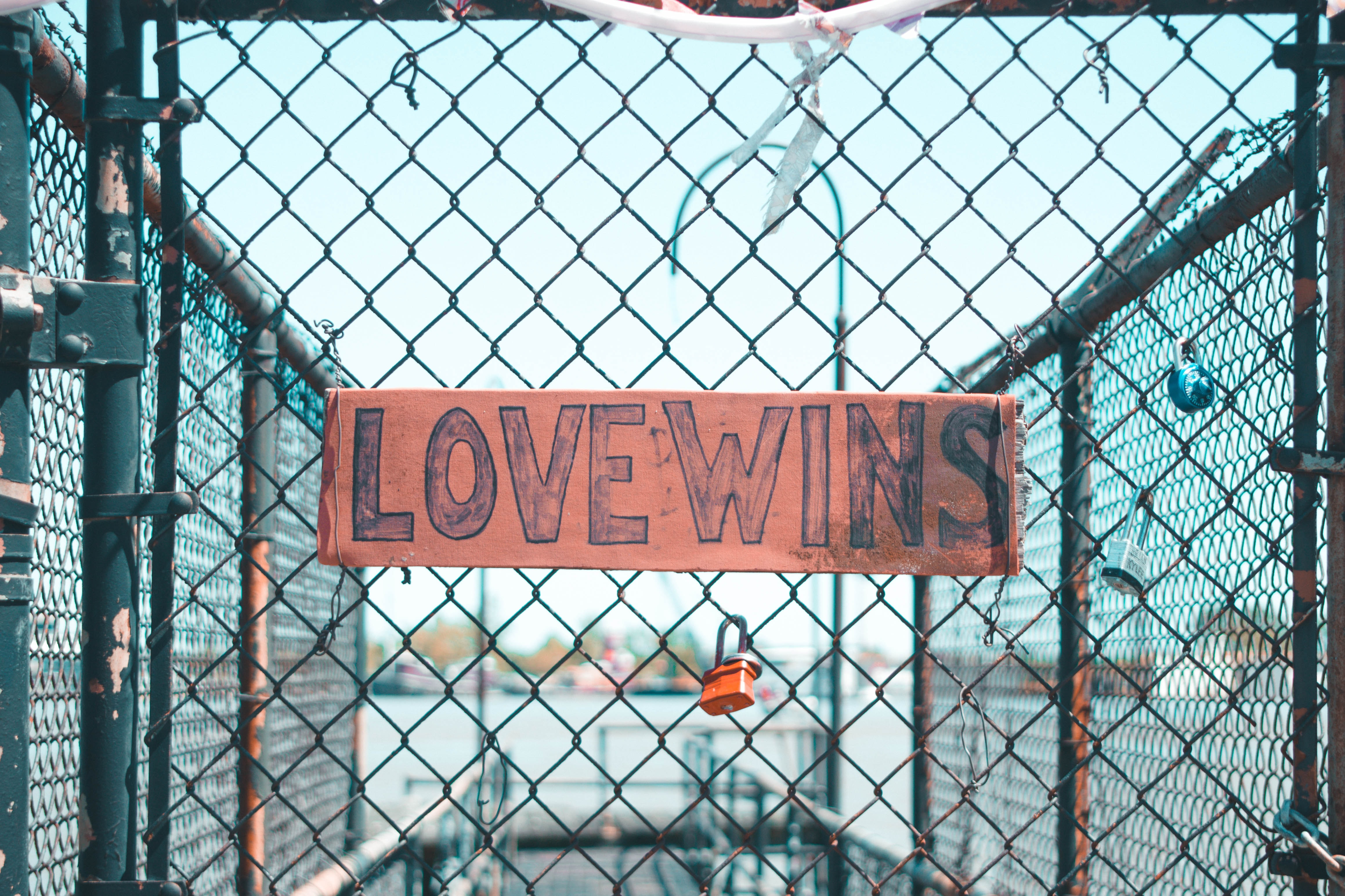Love Wins-printed signage