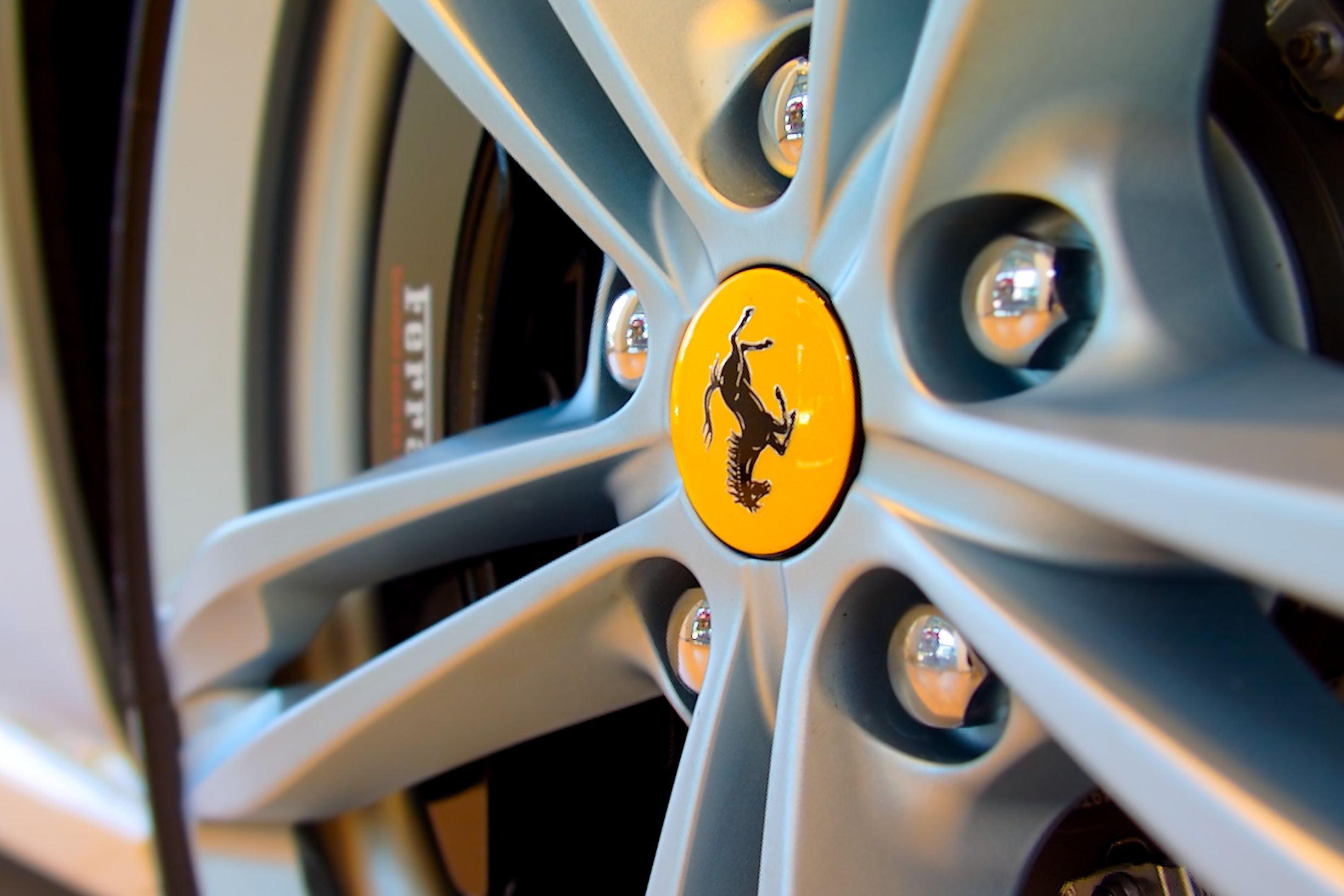 Ferrari car wheel
